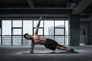 How to Increase Testosterone Naturally, a healthy man working out