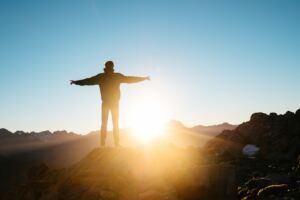 How to Increase Testoterone naturally, a man enjoying the sunshine