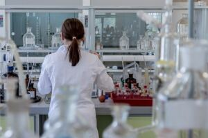 TestoGen review, scientist in a laboratory