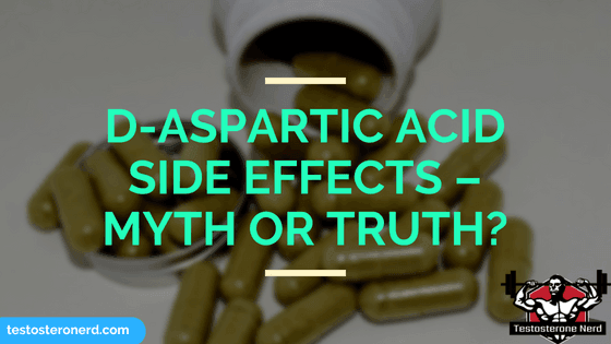 D-Aspartic acid side effects