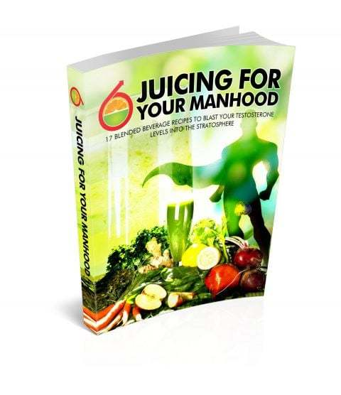 Juicing for your manhood review, book cover
