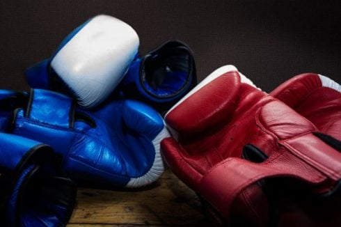 Low testosterone treatment in men, boxing gloves