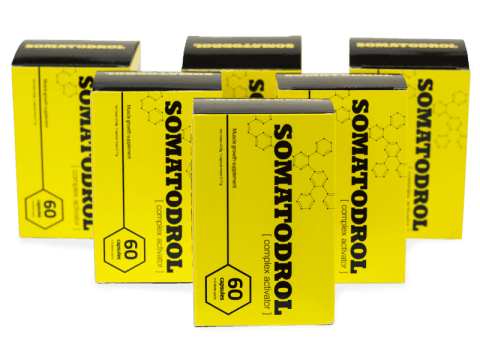 Somatodrol review, five Somatodrol boxes
