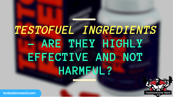 TestoFuel ingredients