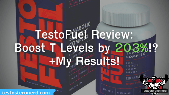 TestoFuel review, a bottle and a box of testofuel