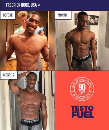 TestoFuel review, results - before and after