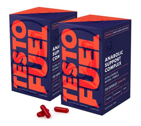 TestoFuel side effects, two boxes of TestoFuel