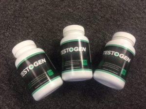 TestoGen ingredients, 3 bottles of TestoGen