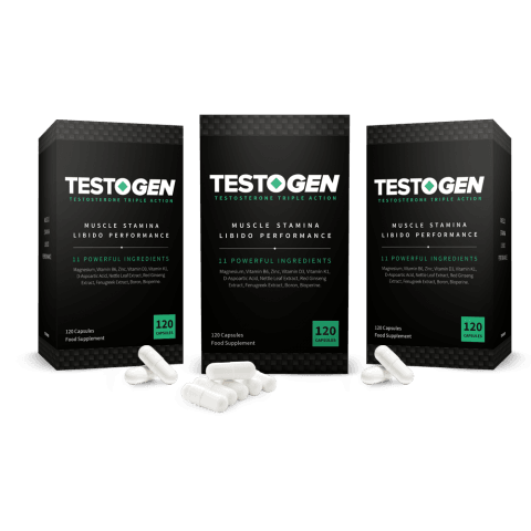 TestoGen vs TestoFuel, three boxes of TestoGen
