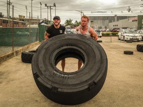 Testosterone vs Free Testosterone, tire flipping