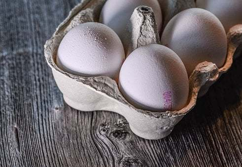 Top 4 foods for muscle gain, eggs