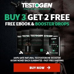 Testosterone booster - TestoGen limited offer