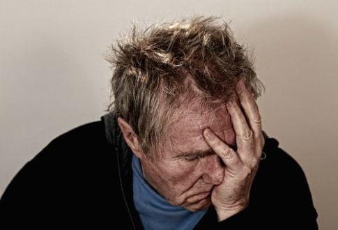 When is low testosterone dangerous, depressed man