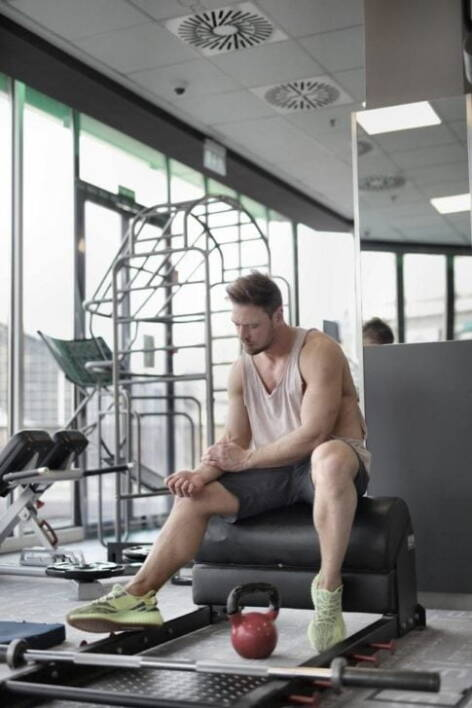 Will low testosterone cause fatigue, tired male athlete