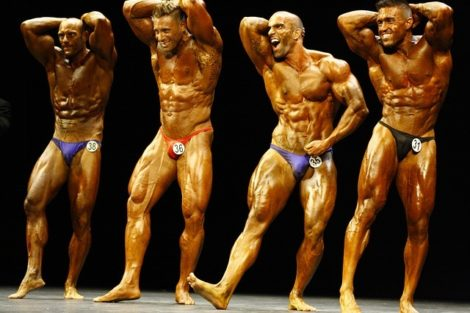 When is the best time to take a testosterone booster, bodybuilders posing