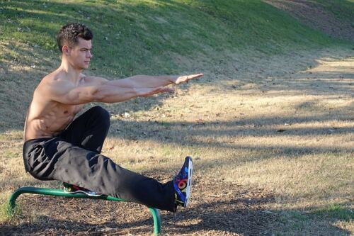 Here's How and If 30-Day Fitness Challenges Really Work, a man doing one-leg squats